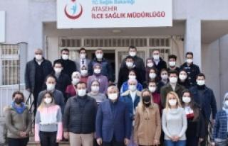 İsmail Erdem Ataşehir'de ziyaretlerine devam...