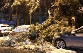 İstanbul'da yoğun kar yağışı: Bazı bölgelerde...