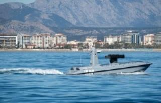 Türkiye'nin ilk silahlı deniz aracı ULAQ suya...