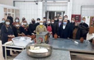 Çankırı Küpecik Peyniri'nin Deneme Üretimi...