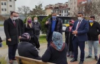 CHP ATAŞEHİR YEREL ESNAFA DESTEK İÇİN SAHADA