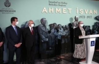 AHMET İSVAN SERGİSİNE İLK ZİYARET KEMAL KILIÇDAROĞLU'NDAN