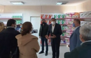 ATAŞEHİR'DE İKİNCİ SOSYAL MARKET DE HİZMETE...