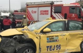 Ataşehir'de zincirleme kazası
