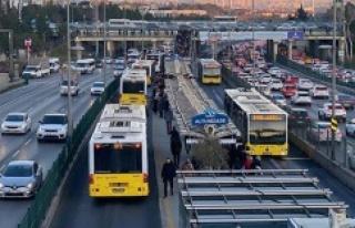 İBB'DEN TOPLU TAŞIMAYA 'TAM KAPANMA'...