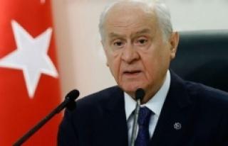 MHP Lideri Bahçeli'den Başbuğ Alparslan Türkeş'i...
