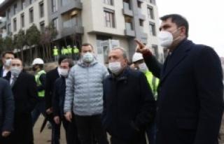 Murat Kurum: İstanbul'un en büyük kentsel dönüşümünü...