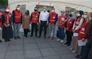 Ataşehir AK Parti ve Kızılay Kan Bağışı Kampanyası...