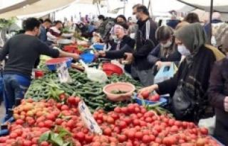 BİR GÜNDE İSTANBUL'DA 438 SEMT PAZARI AÇILDI