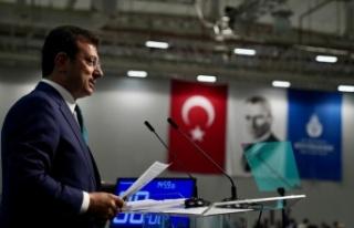 İmamoğlu, faaliyet raporu oylaması öncesinde konuştu:
