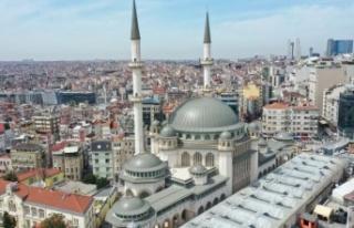 Taksim Camii açılıyor