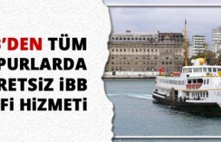 İBB'DEN TÜM VAPURLARDA ÜCRETSİZ İBB Wİ-Fİ...