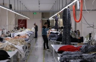 Tekstil ihracatı 2021'in ilk yarısında yüzde...
