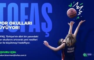 TOFAŞ Spor Okulları büyüyor