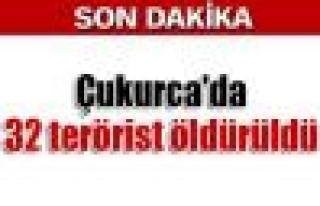 Çukurca Kazan Vadisi'nde 32 terörist öldürüldü