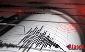 6,5 büyüklüğünde deprem