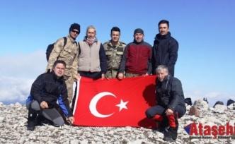 Ilgaz Dağı Küçük Hacettepe Tırmanışı Başarıyla Gerçekleştirildi