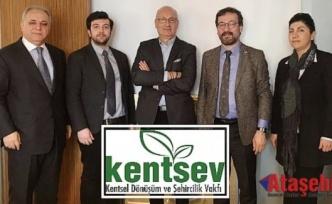 Kentsel Dönüşüm ve Şehircilik Vakfı ''KENTSEV'' Kuruldu