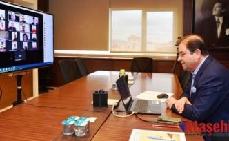 Başkan Ali Kılıç muhtarlarla telekonferans yaptı