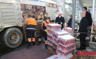 """Maltepe'deki devlet hastanelerine """"korona"""" yardımı"""