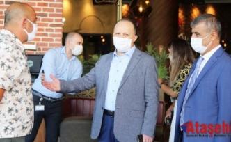 Maltepe'de koronavirüs denetimleri sürüyor