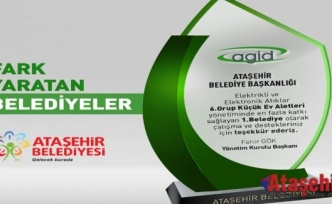 """EN FAZLA E-ATIK TOPLANMASINA KATKI SAĞLAYAN BELEDİYE """"ATAŞEHİR"""""""