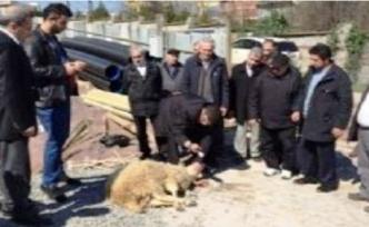 Kemaliye Aşağıumutlu Köyü Kültür Merkezi'nin temeli dualarla atıldı