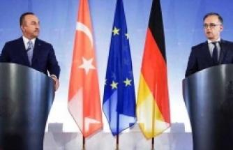 Dışişleri Bakanı Çavuşoğlu, Maas ile görüştü