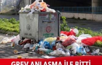 Maltepe Belediyesi'nde grev anlaşma ile bitti