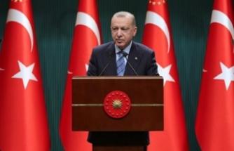 Cumhurbaşkanı Erdoğan, Pandemi ile ilgili açıklamalarda bulundu