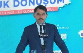 """Bakan Kurum: """"ACİL DÖNÜŞTÜRÜLMESİ GEREKEN 1,5 MİLYON KONUT VAR"""""""