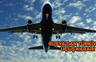 Rusya'danTürkiye'ye uçuşlar başlıyor
