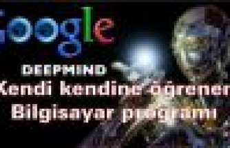 Google'dan Kendi kendine öğrenen bilgisayar programı