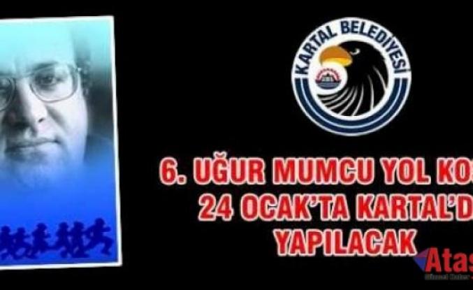 6. UĞUR MUMCU YOL KOŞUSU 24 OCAK'TA KARTAL'DA YAPILACAK