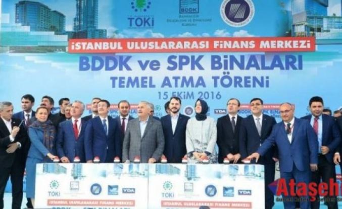 İstanbul Finans Merkezi, BDDK ve SPK binaları temei atıldı