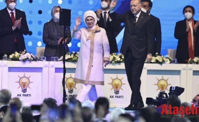 Recep Tayyip Erdoğan yeniden AK Parti Genel Başkanı seçildi.