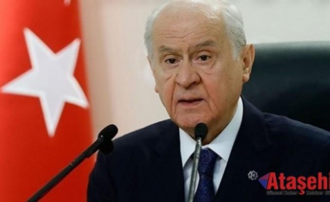 MHP Lideri Bahçeli'den Başbuğ Alparslan Türkeş'i Anma Mesajı