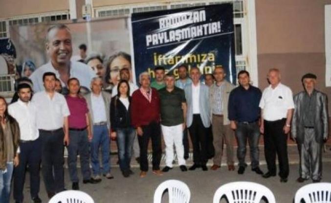 Ataşehir'de Malatyalılardan İftar yemeği