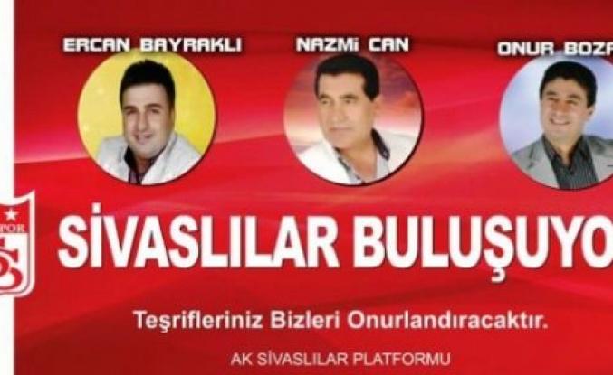 Sivaslılar Ataşehir'de buluşuyor