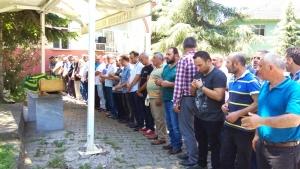 Turan ARSLANOĞLU'nun Annesi Gülhayat ARSLANOĞLU'nun  Cenaze Namazı 2018