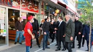 İBB, İstanbul Büyükşehir Belediye Başkanı Başkanı Ekrem İmamoğlu, Ataşehir'de incelemelerde bulundu