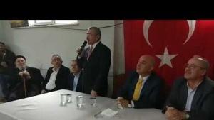 Ak Parti Ataşehir Belediye Başkan adayı İsmail Erdem'in Yenisahra Mahallesindeki  konuşması