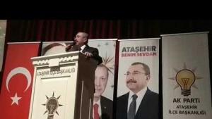 Ak Parti Ataşehir Belediye Başkanı İsmail Erdem Kastamonulular Gecesi Konuşması 2019