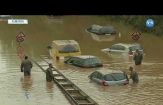 Almanya'da Yaşanan Sel Felaketinin Görüntüleri, 2021