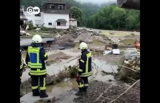 Almanya yakın tarihin en büyük sel felaketi yaşandı