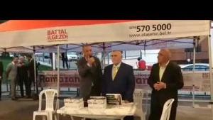 Ataşehir Belediyesi Esatpaşa Kapalı Alan İftar Proğramı 2019