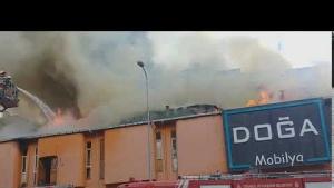 Ataşehir, Ferhatpaşa Mahallesi, Doğa Mobilya Yangın