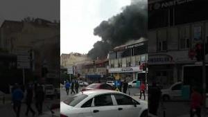 Ataşehir, Örnek Mahallesi, Yangın 28 Ekim 2020
