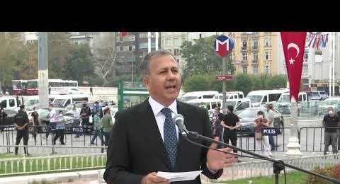 6 Eylül İstanbul'un Kurtuluşu Taksimde Törenle Anıldı