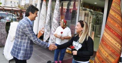 Ak Parti İlçe Başkanı Ahmet Özcan'ın İçerenköy Esnaf ve Ak Nokta ziyareti 2018 1